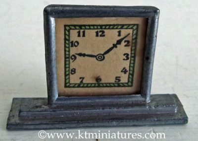 c1920s/30s German Art Deco Clock @ £21.00