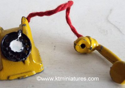 Vintage Barrett & Son Yellow Metal Phone @ £11.50 SOLD