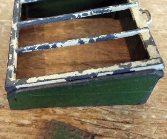 c1930s Britains Lead Cold Frame (064) & Seed Box (069) @ £30.00