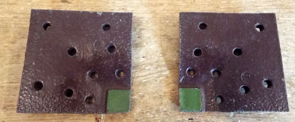 c1930s-1950s Britains Flower Bed Return Square Section (03) @ £7.00 each