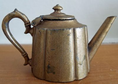 "Large Scale c1920s ""Britains"" Gilt Metal Teapot @ £12.50"