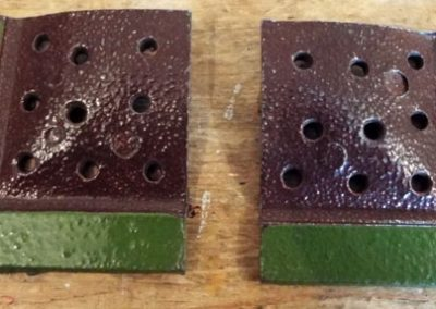 c1930s-1950s Britains Flower Bed Finishing Corner Section (06) @ £5.50 each