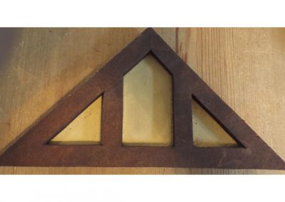 Vintage Dolls House Wooden Gable End @ £10.50