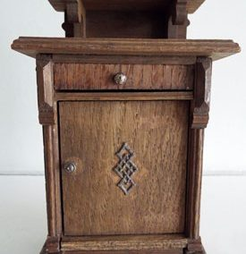 Antique German Oak Cupboard @ £29.00