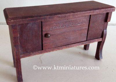German-Miniature-Wooden-Sideboard2