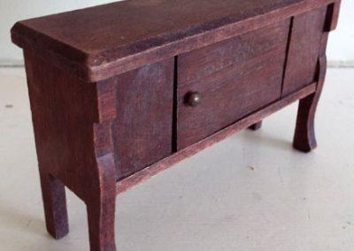 German-Miniature-Wooden-Sideboard3