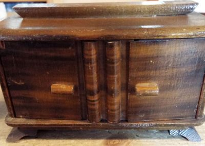 Old German Sideboard Large Scale (some damage to hinge) @ £7.50