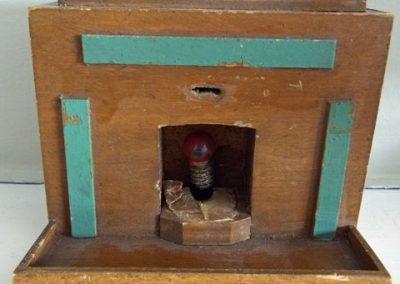 c1930s (?) Antique Art Deco Style Fireplace With Old Bulb @ £19.50 SOLD