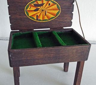 c1930s Pit-a-Pat Cutlery Stand @ £39.00