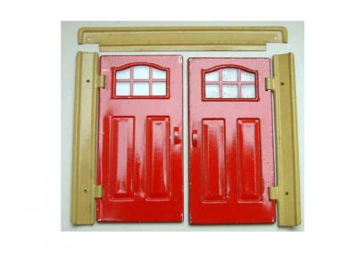 Romside Tin Garage Doors & Top Frame @ £12.95