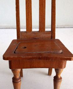 Early 1900s Schneegas Dining Chair (missing upholstery) @ £9.50
