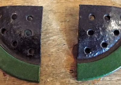 c1930s-1950s Britains Flower Bed Finishing Circular Section (02) @ £5.50 each