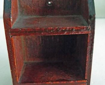 "c1930s ""Tiny Toy"" Small Wall Shelf@ £9.95"