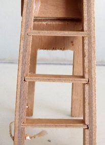 Vintage Barton Wooden Stepladder @ £5.90 SOLD