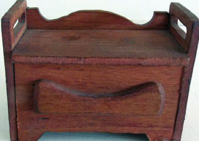 Vintage Wooden Hall Seat (Hobbies Design) @ £9.50 SOLD
