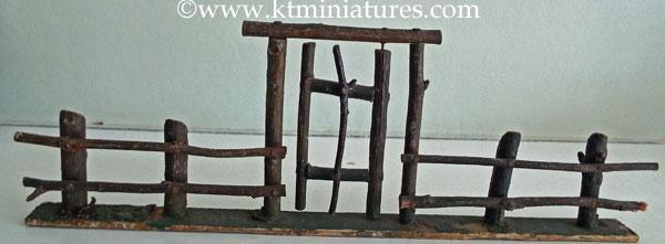 c1930s-Miniature-Fence-&-Gate