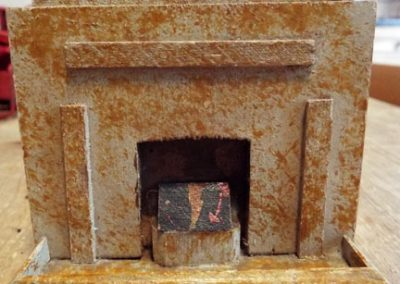 Vintage Wooden Art Deco Fireplace @ £19.50