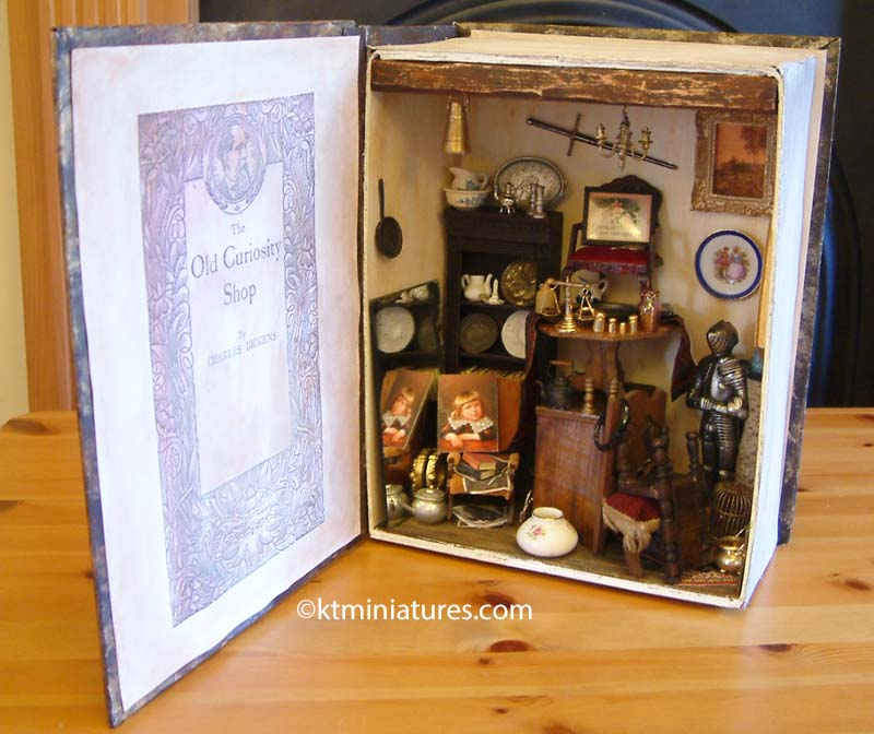 The Old Curiosity Shop In A Book